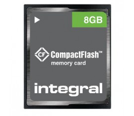 CF (Compact Flash) Carte mémoire 8 GB
