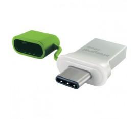Lecteur Flash USB 3.0 32 GB Aluminium/Vert