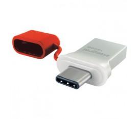 Lecteur Flash USB 3.0 128 GB Aluminium/Rouge
