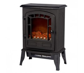 Electric Fireplace Heater Torino Autonome 2000 W Noir