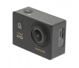 Action Caméra HD 720p Noir