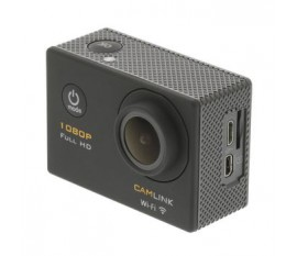 Caméra Embarquée Full HD 1080p Wi-Fi Noir