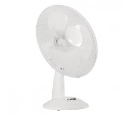Ventilateur de table 40 cm 45 W Plastic Blanc