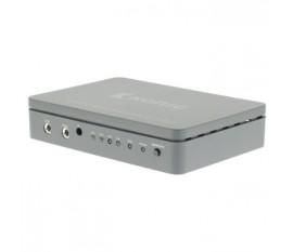 4-Port Commutateur HDMI Gris foncé