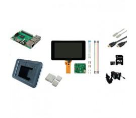 Matériel Raspberry Pi 3 LCD Starter Kit + Wi-Fi + Bluetooth + Raspbian Software