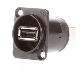 Prise d'appareil traversante USB