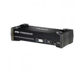 8-Port Cat5 Splitter VGA Noir