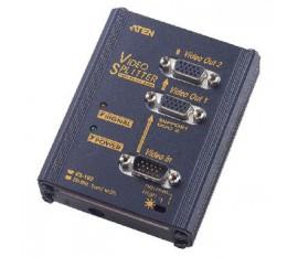 2-Port Splitter VGA Noir