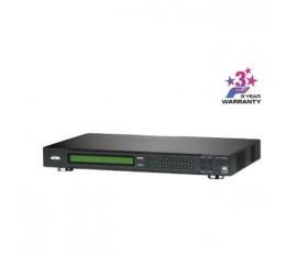8x 8 Ports Repartiteur HDMI Noir