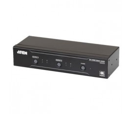 2x 2 Ports Repartiteur HDMI Noir