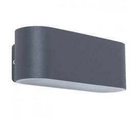Applique LED Murale 14 W 970 lm Gris foncé