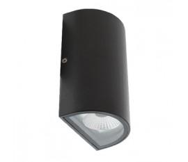 Applique LED Murale 11 W 490 lm Noir