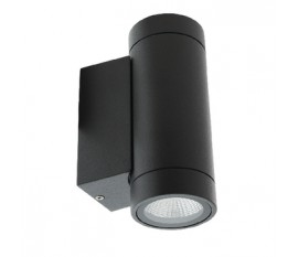 Applique LED Murale 6 W 190 lm Noir