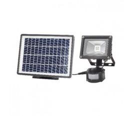 Projecteur LED avec capteur de mouvements 3 W 550 lm Noir