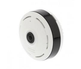 HD Caméra IP 1280x960 Panorama Blanc/Noir