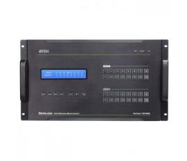 16x 16 Ports Repartiteur HDMI Noir