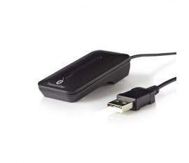 Émetteur Audio sans Fil | Bluetooth® | Jusqu'à 2 Écouteurs | Noir
