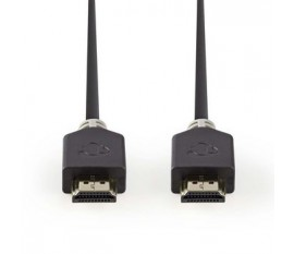 Câble HDMI™ Haute Vitesse avec Ethernet   Connecteur HDMI™ - Connecteur HDMI™   5,0 m   Anthracite