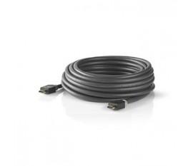 Câble HDMI™ Haute Vitesse avec Ethernet   Connecteur HDMI™ - Connecteur HDMI™   10 m   Anthracite