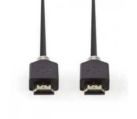 Câble HDMI™ Haute Vitesse avec Ethernet | Connecteur HDMI™ - Connecteur HDMI™ | 1,0 m | Anthracite