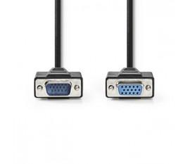 Câble VGA | VGA Mâle - VGA Femelle | 10 m | Noir