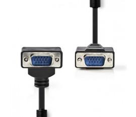 Câble VGA | VGA Mâle - VGA Mâle Coudé 90° | 5,0 m | Noir