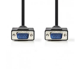 Câble VGA | VGA Mâle - VGA Mâle | 5,0 m | Noir