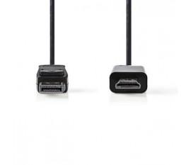 Câble DisplayPort vers HDMI™   DisplayPort Mâle - Connecteur HDMI™   1,0 m   Noir