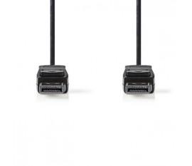 Câble DisplayPort   DisplayPort Mâle - DisplayPort Mâle   2,0 m   Noir