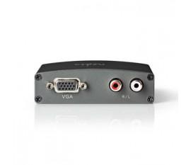Convertisseur HDMI™ vers VGA | 1 entrée - Entrée HDMI™ | VGA + 2 Sorties RCA (G/D)