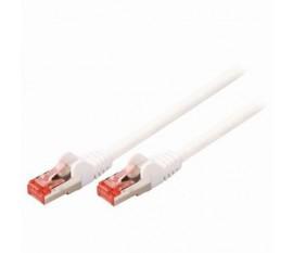 CAT6 câble réseau S/FTP | Câble RJ45 (8P8C) Mâle vers RJ45 (8P8C) Mâle | 2,0 m | Blanc