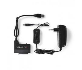 Adaptateur pour Disque Dur | USB 3.0 | SATA | Universel | avec Adaptateur Secteur
