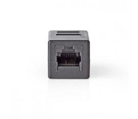 Adaptateur réseau Cat 6 | RJ45 (8P8C) Femelle - RJ45 (8P8C) Femelle | Noir
