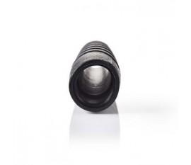 Soufflet de câble BNC | Pour Câbles RG58 - 10 pièces | Noir