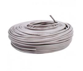 Câble réseau CAT5e F/UTP | Multibrins - 100 m | Gris