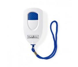 Alarme de sécurité personnelle | Légère | Alarme ≥ 85 dB | Blanc