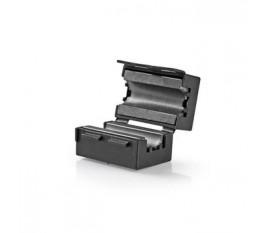 Filtre Ferrite Vidéo | 300 MHz | Compatible avec des Diamètres de Câble jusqu'à 10 mm | 25 pièces | Noir