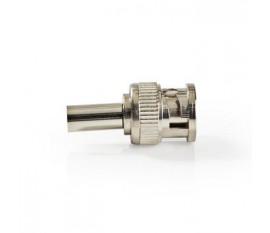Connecteur BNC | Homme | Compatible avec les câbles coaxiaux RG174 | 25 pièces | Métal