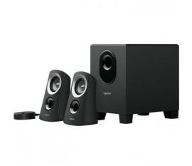 Haut-parleurs 3.5 mm 25 W Noir