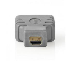 Adaptateur HDMI | Micro-Connecteur HDMI vers HDMI Femelle | Gris