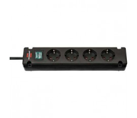 Brennenstuhl Bremounta Extension Socket 4-way black 1.5m H05VV-F 3G1.5