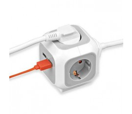 Brennenstuhl ALEA Power Cube - USB Charger Extention socket