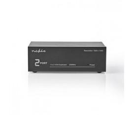 2 ports | Répartiteur VGA | Noir