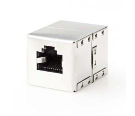 Adaptateur Réseau Blindé Cat 6 | RJ45 femelle - RJ45 femelle | Métal