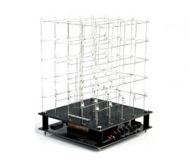 CUBE À LED 3D - 5 x 5 x 5 (LED BLEUE)