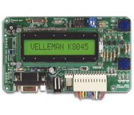TABLEAU DE MESSAGES PROGRAMMABLE AVEC LCD, INTERFACE SÉRIELLE & 8 ENTRÉES
