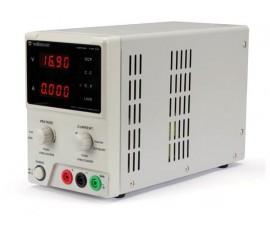 ALIMENTATION DE LABORATOIRE 0-30 VCC 5 A MAX / AVEC DOUBLE AFFICHEUR LED