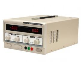 ALIMENTATION DE LABORATOIRE 0-30 VCC 0-10 A MAX /  AVEC DOUBLE AFFICHEUR LED