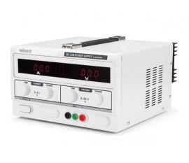 ALIMENTATION DE LABORATOIRE 0-50 VCC 0-5 A MAX / AVEC DOUBLE AFFICHEUR LED