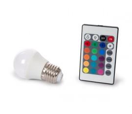 LAMPE LED - 4 W - E27 - RVB & BLANC CHAUD